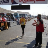 International Egyptian Marathon on 02/17/2006 in Luxor City